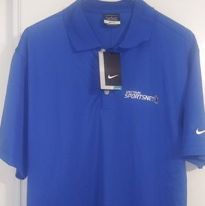 Dodgers Nike Golf Dri Fit Mens Golf Polo Size Med